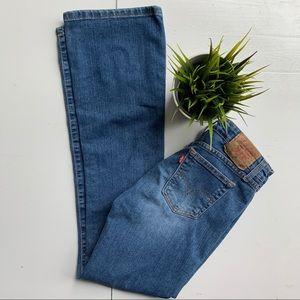 LEVI'S 518 Superlow Stretch Bootcut Jeans 3 EUC